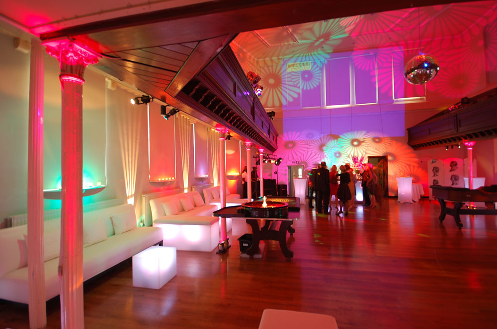 Sleek Party Setting